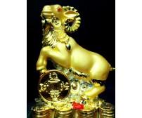 Dê phong thuỷ mạ vàng