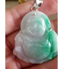 Mặt Phật Di Lặc cẩm thạch