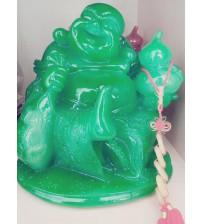 Phật Di Lặc bột đá cẩm thạch